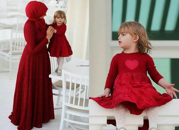 Like mother like daughter ..hijab