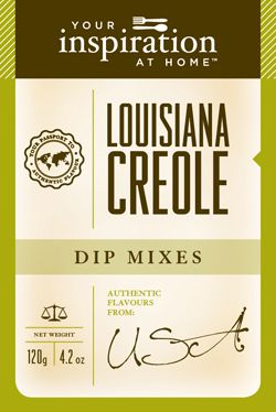 Louisiana Creole  Spicy, hot and full of flavour! Great for Creole Cuisine including Jambalaya, Cajun BBQ and blackened dishes. Spice up a potato salad or mix with lime juice and prawns and grill on the BBQ! This dip mix has a real kick, so best to go easy with it until you become familiar with its hotness!  To purchase go to www.sharonking.yourinspirationathome.com.au