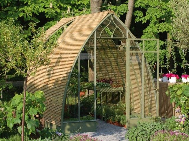 serre forme ogive greenhouse conservatory serre invernadero pinterest gardens arches. Black Bedroom Furniture Sets. Home Design Ideas