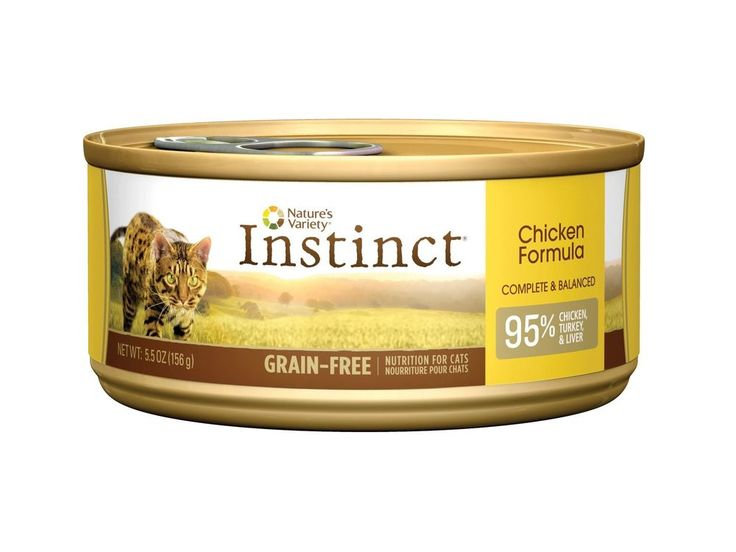 Nature's Variety Instinct Grain-Free Canned Cat Food Chicken #NaturesVariety