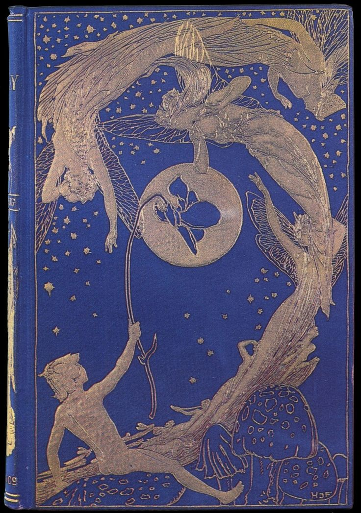 Henry Justice Ford ~ Book Cover ~ The Violet Fairy Book ~ 1901 ~ via The Pictorial Arts