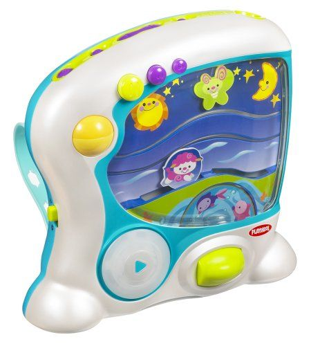 $44.95-$34.99 Baby Help kids get a fresh start and a happy ending to each and every day with the DAY TO DREAM SOOTHER toy! Choose from energizing or soothing songs, animated characters or soft lights to match your child??s mood. Day and night modes stimulate and relax kids with just music, or add the illuminated screen with moving light waves! Nighttime is just right for turning on the ceiling l ...