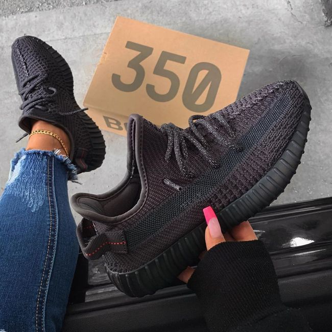 Yeezy Boost 350 V2 Black (Non Reflective) in 2020