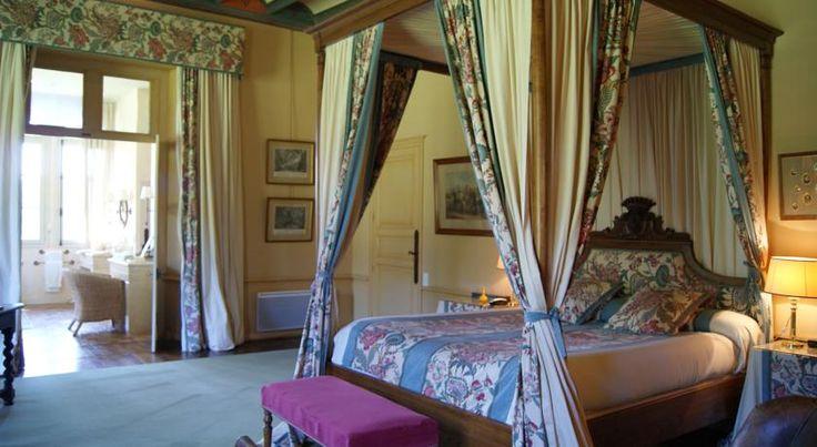 Maison d'hôtes Château de La Verrerie - Oizon, France Chambre Stuart