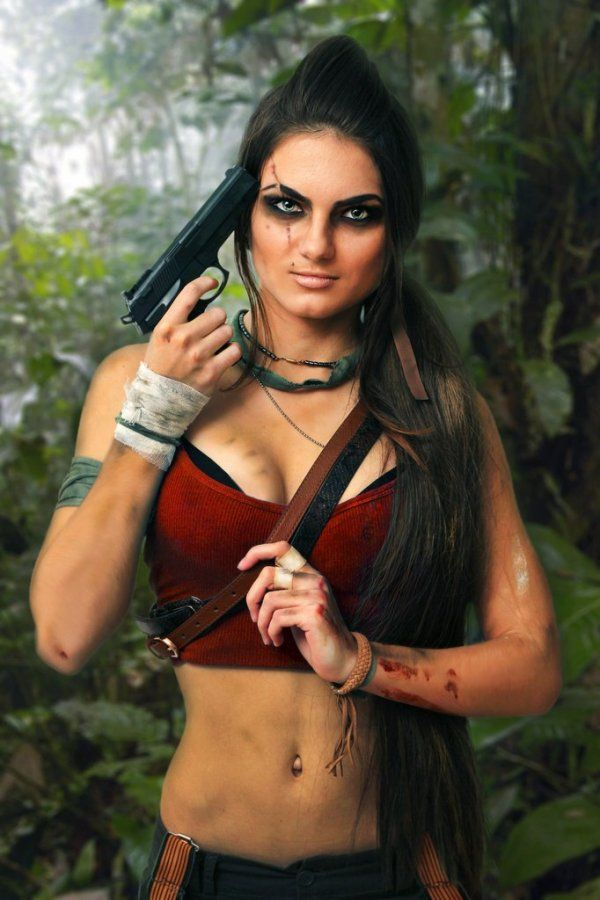 Gender-Swapped Vaas (Far Cry 3)