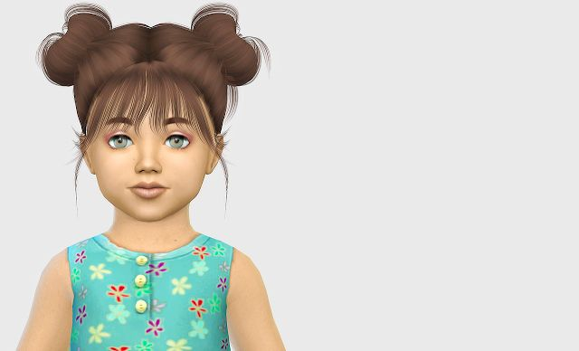 Sims 4 CC's - The Best: Kids & Toddlers Hair by Fabienne