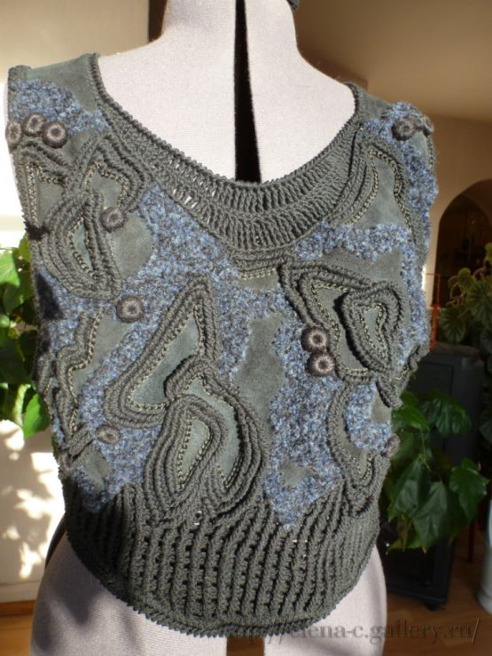 Gallery.ru / Fotoğraf # 14 - Elbise + Örme Suede - Elena-C