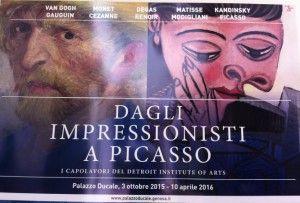 Dagli Impressionisti a Picasso: la mostra a Genova