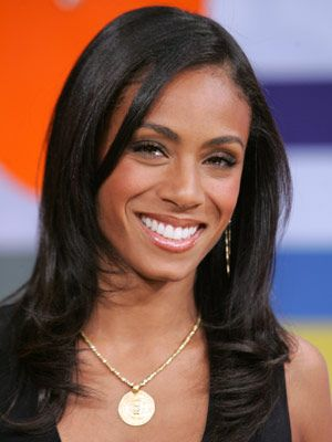 Jada Pinkett Smith's smooth, long layers are ultra chic