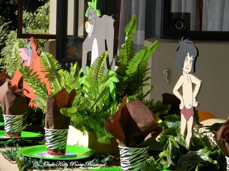 Jungle Book inspired Party by Co-Ords Kidz Party Boutique