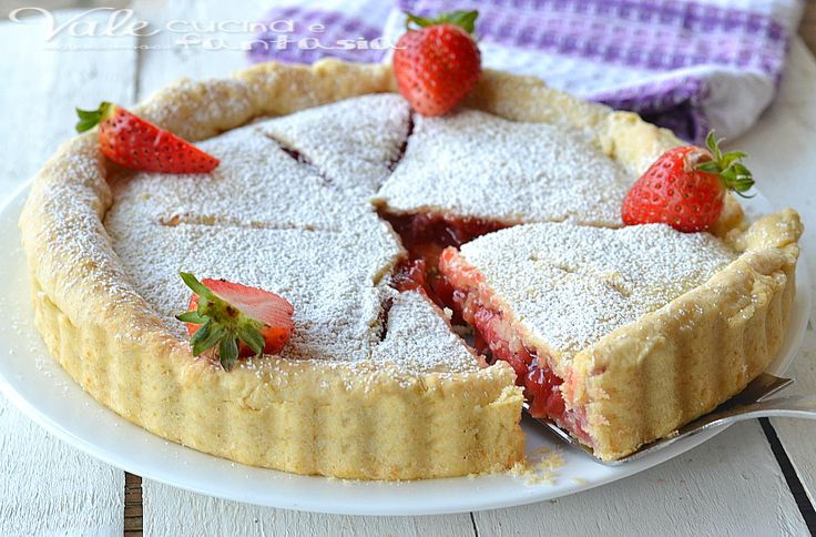 Strawberry pie (crostata di fragole americana)