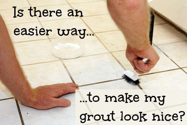 How to make my grout look nice fix it diy pinterest for How to make grout white again