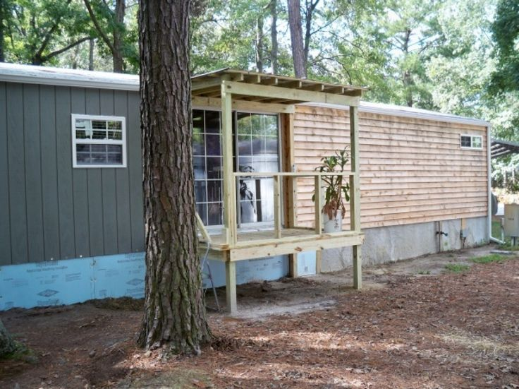 Exterior Mobile Home Makeover Pinterest The World39s Catalog Of Ideas Best Ideas