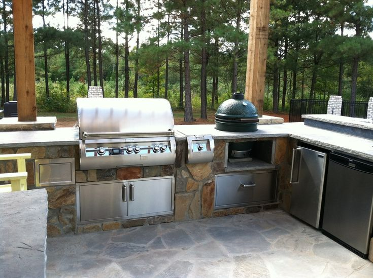 25 best Big Green Egg Outdoor BBQ Kitchen images on Pinterest - outdoor k che ikea