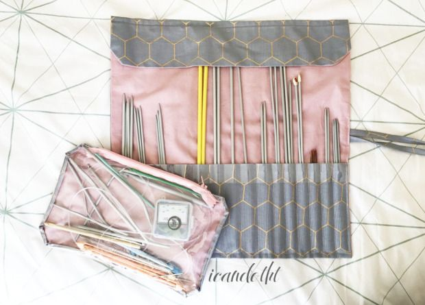 DIY needle case and notions bag on icandotht.com