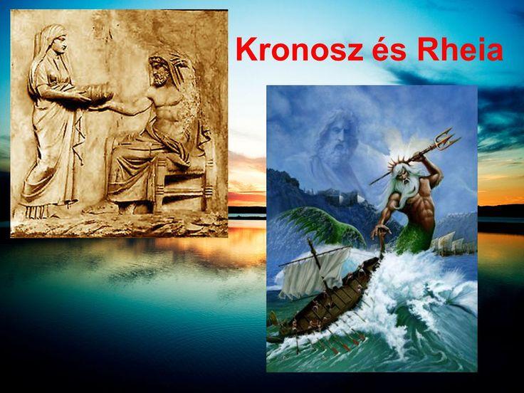 Görög mitológia. Kronosz - Rheia Hádész Posszeidon Athéné Arész ...