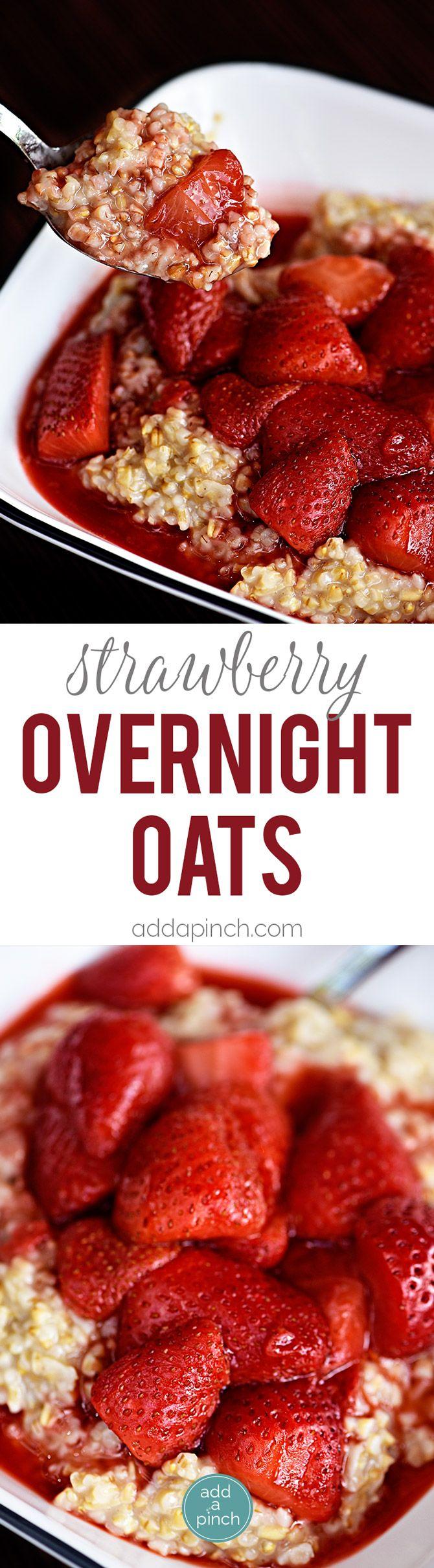 about Strawberry Overnight Oats on Pinterest | Overnight Oats, Oats ...