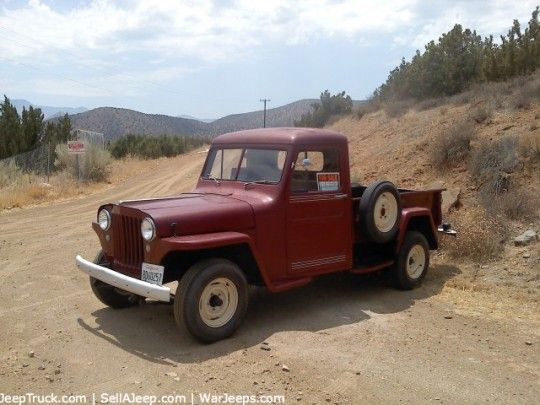 1946 Willys Jeep Pickup