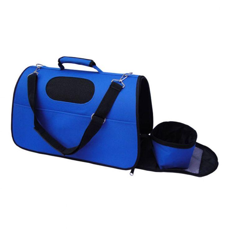 Bolso Transportín Para Gatos Arppe Carrier Azul