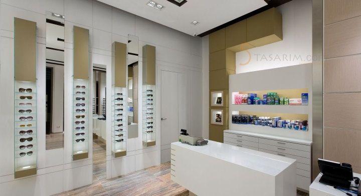 gözlük mağazası duvar raf sistemleri