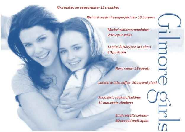 Gilmore Girls | 43 Workouts That Allow You To Watch An Ungodly Amount Of Television