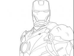 Iron Man Coloring Pages For Kids 11846 Hd Wallpapers