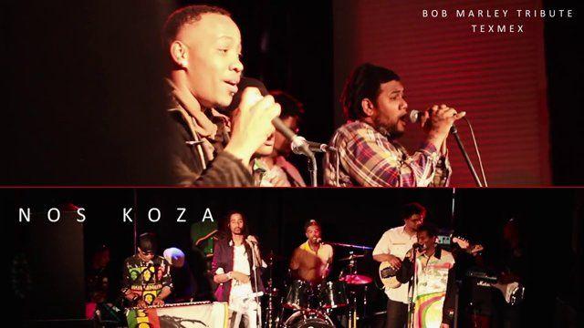 Natural & Nos Koza treden op tijdens Bob Marley Tribute in Texmex Spijkenisse.