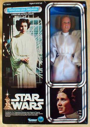 Princess Leia Organa Large Size Action Figure - Star Wars Collectors Archive