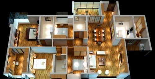 Denah Rumah Minimalis 1 Lantai  (15)