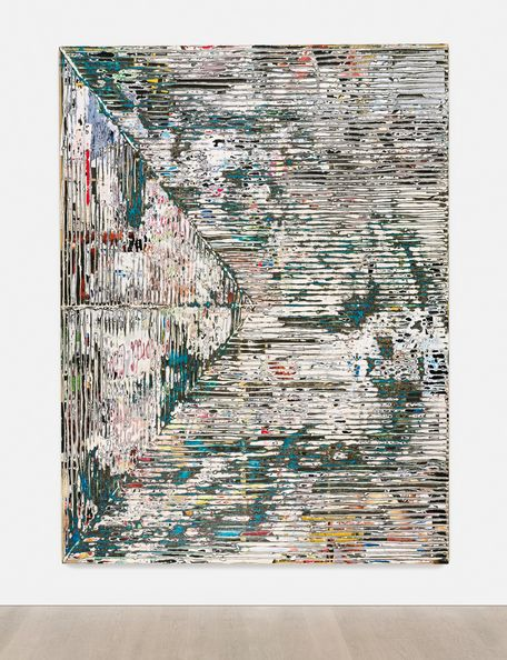#AuctionUpdate: Sale opens with Mark Bradford's 'Smear' achieving $4.4m, a new record for the artist at auction