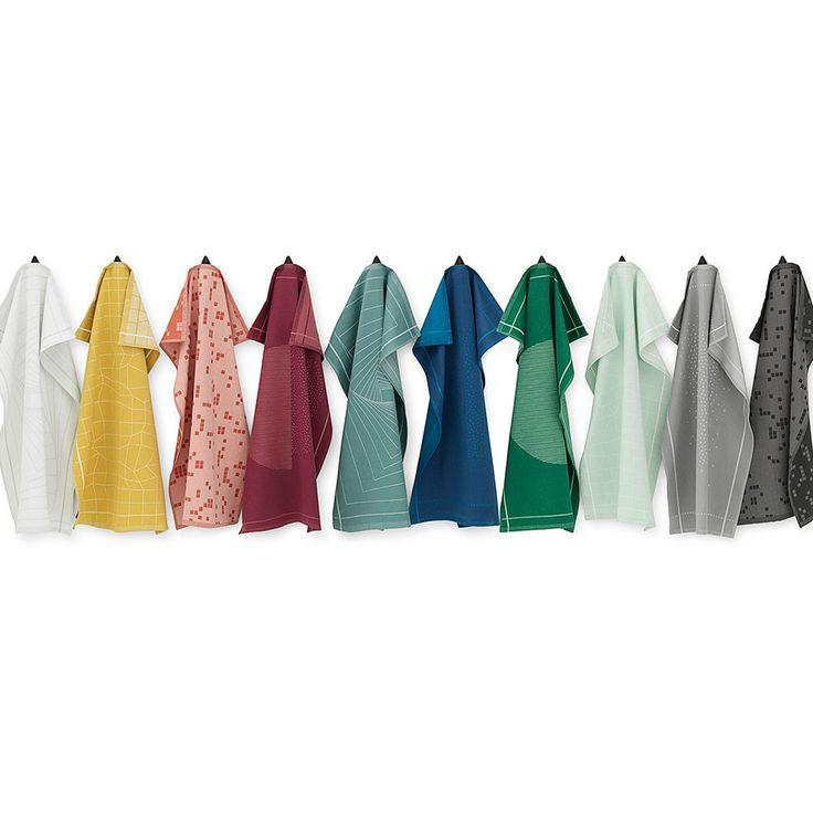 top3 by design - Normann Copenhagen - illusion tea towel white