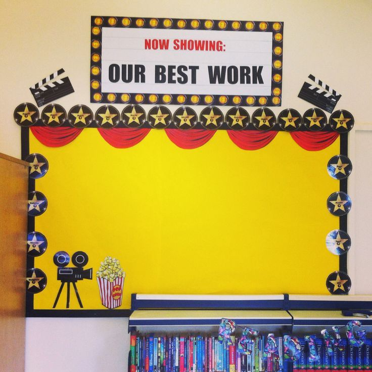 Hollywood Theme Classroom | My Hollywood themed classroom display