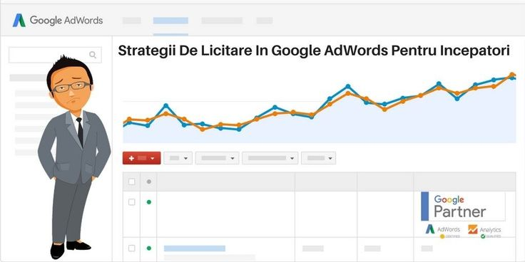 In articolul de astazi vei afla 7 strategii de licitare in Google AdWords pentru…