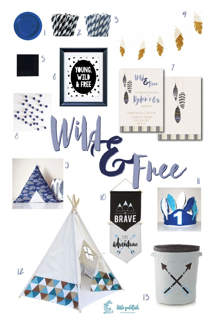 Party Inspiration: Wild & Free