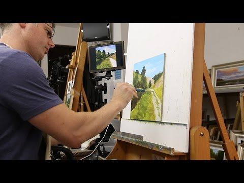 HOW TO PAINT AWESOME TREES - YouTube