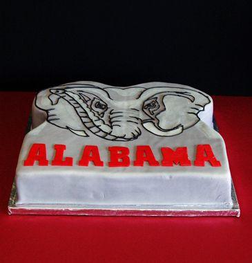 59 best Cake Ideas Sports images on Pinterest Alabama cakes