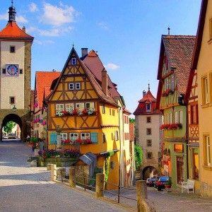 Scenic Village, Rothenburg, Germany 2014