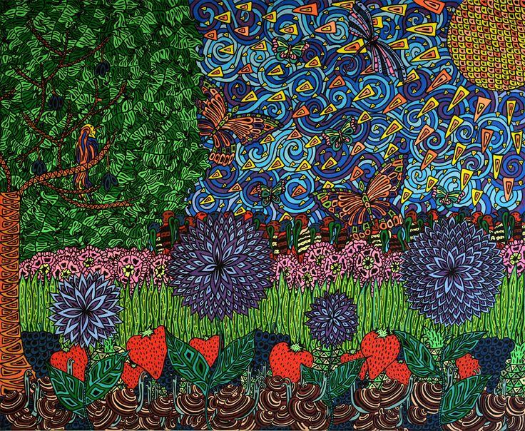 Strawberry fields #molotow
