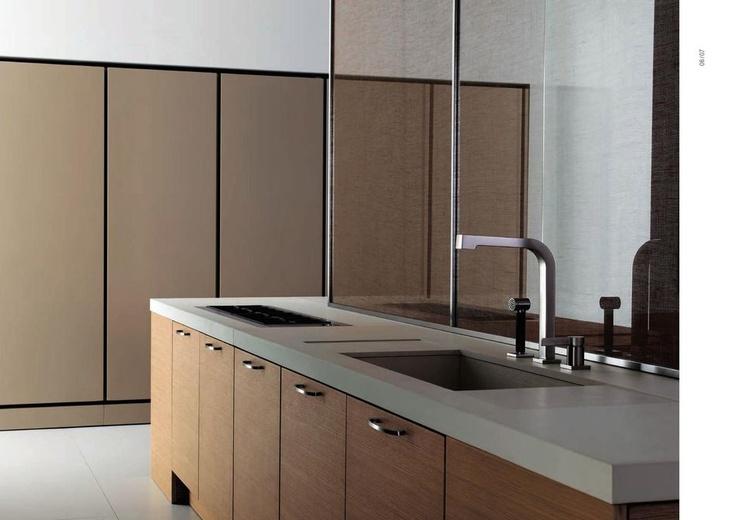 Moderní designové kuchyně od ABC Cucine, kompletní nabídka na: http://www.saloncardinal.com/galerie-abc-cucine-714