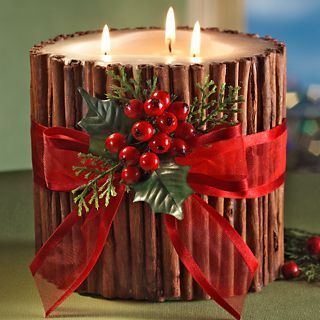 5 Ideas fáciles para decorar velas con canela aromáticos