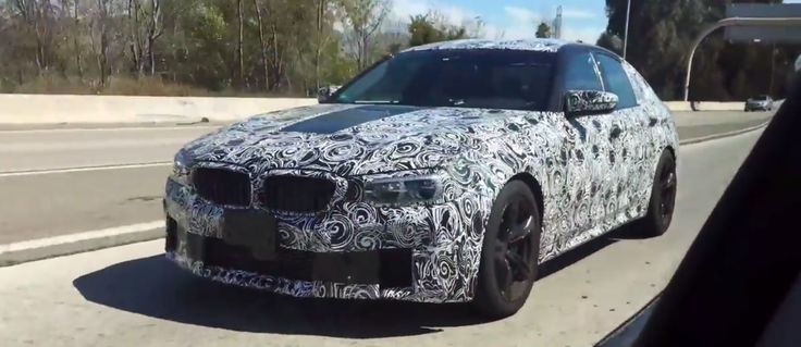 BMW F90 M5 test mule spotted in Los Angeles Area - http://www.bmwblog.com/2016/10/24/bmw-f90-m5-test-mule-spotted-los-angeles-area/