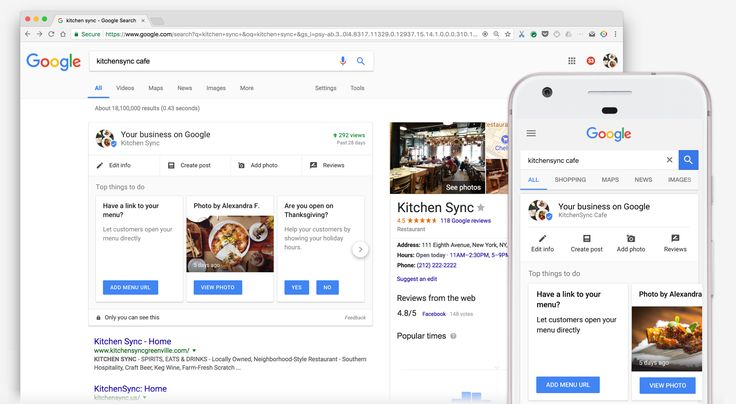 Manage your business listing without leaving Google Search