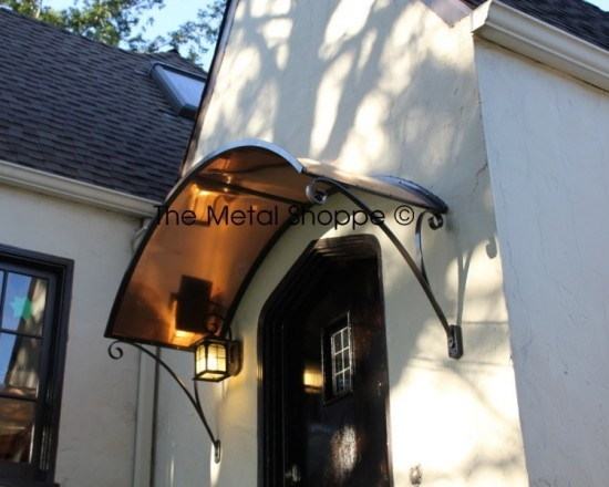 Custom Arched Copper And Iron Window / Door Awning   Exterior   Los Angeles    The Metal Shoppe, Custom Metal Design, Fabrication