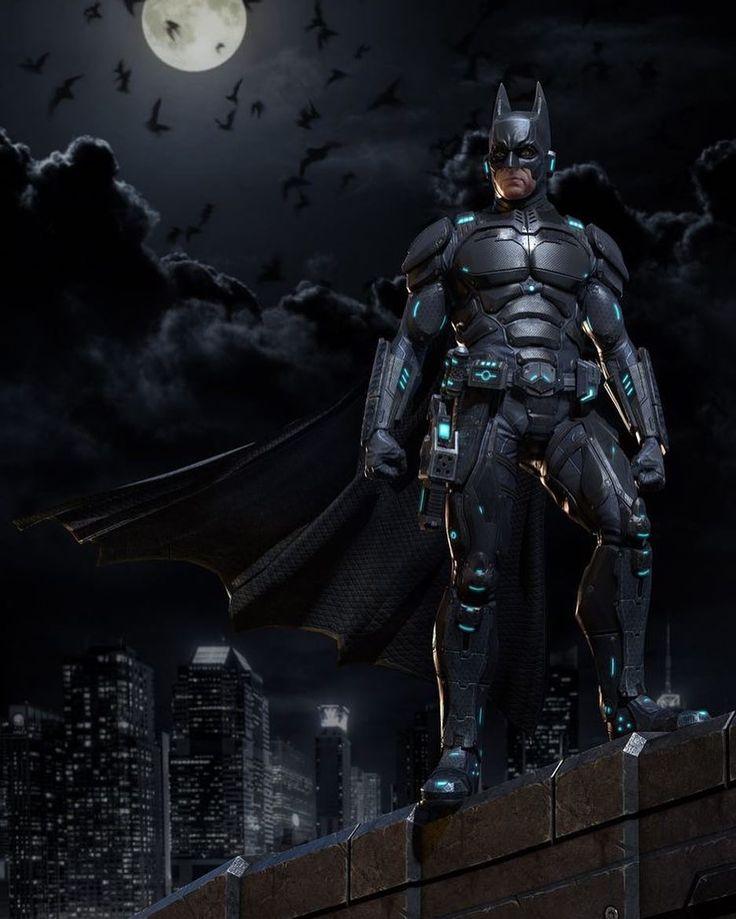 What do you think of this sci-fi Batman redesign? Art by Sarakawa  #SciFi #Batman #Redesign #JusticeLeague #DC #DCComics #Comics #ConceptArt #Art #Artist #Superhero