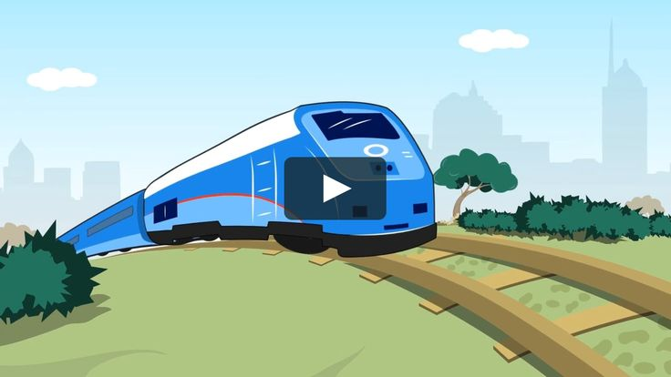 Hit by a Train - This 1-minute video uses a humorous, irreverent approach and includes crossing safety tips, trespass prevention tips, and information on Emergency Notification Signs.