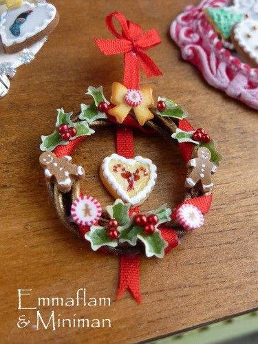 Mini Christmas Garland