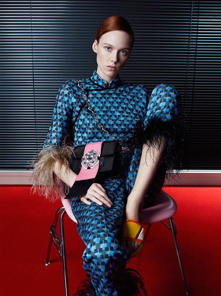 Prada Spring/Summer 2017 Campaign by Willy Vanderperre