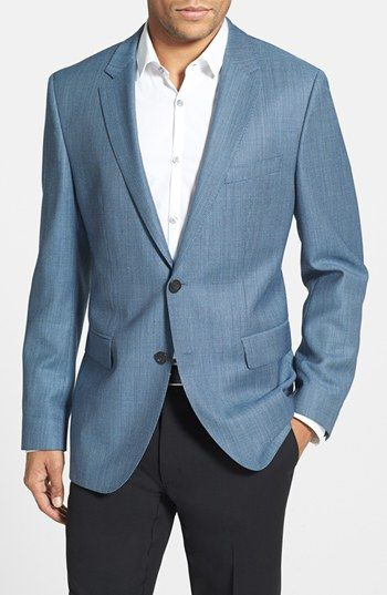BOSS HUGO BOSS 'James' Trim Fit Wool Blazer available at #Nordstrom