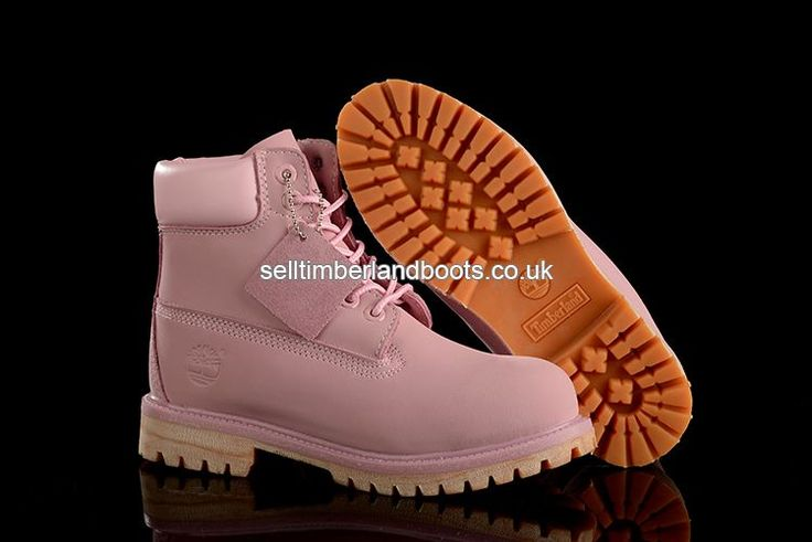 2017 New Women's Timberland 6 Inch Boots All Pink Outlet UK £72.00
