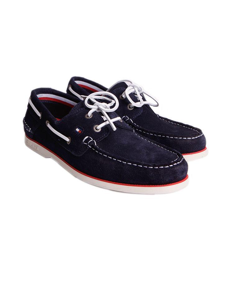 Ανδρικά Suede Boat Παπούτσια της Tommy Hilfiger